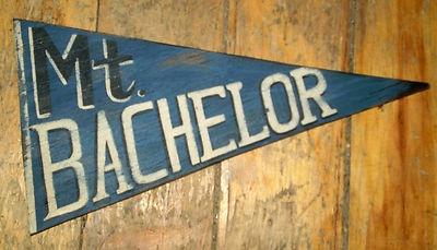 Mt Bachelor: Primitive Skiing, Wood Wooden, Sign Charles, Skiing Sign, Mt Bachelor, Bachelor Wood, Pennant Mt