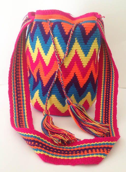 Tribal Mochila Wayuu Bag Different styles by EdensGlobalTreasures, £92.00