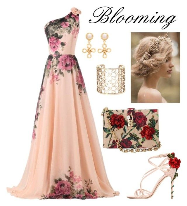 """Red rose"" by kseniavarlamova on Polyvore featuring мода, CO, Dolce&Gabbana, Hermès и Chanel"