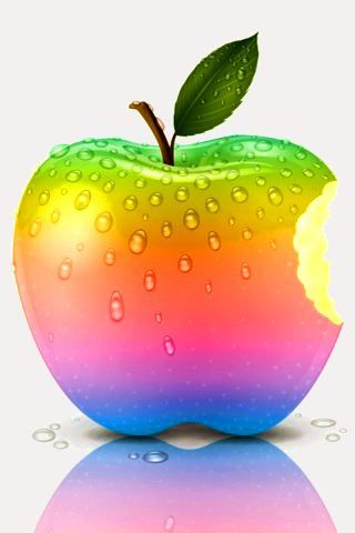 Healthy eating is fun, colourful, tasty and.....will make you feel as vibrant as this gorgeous little apple.