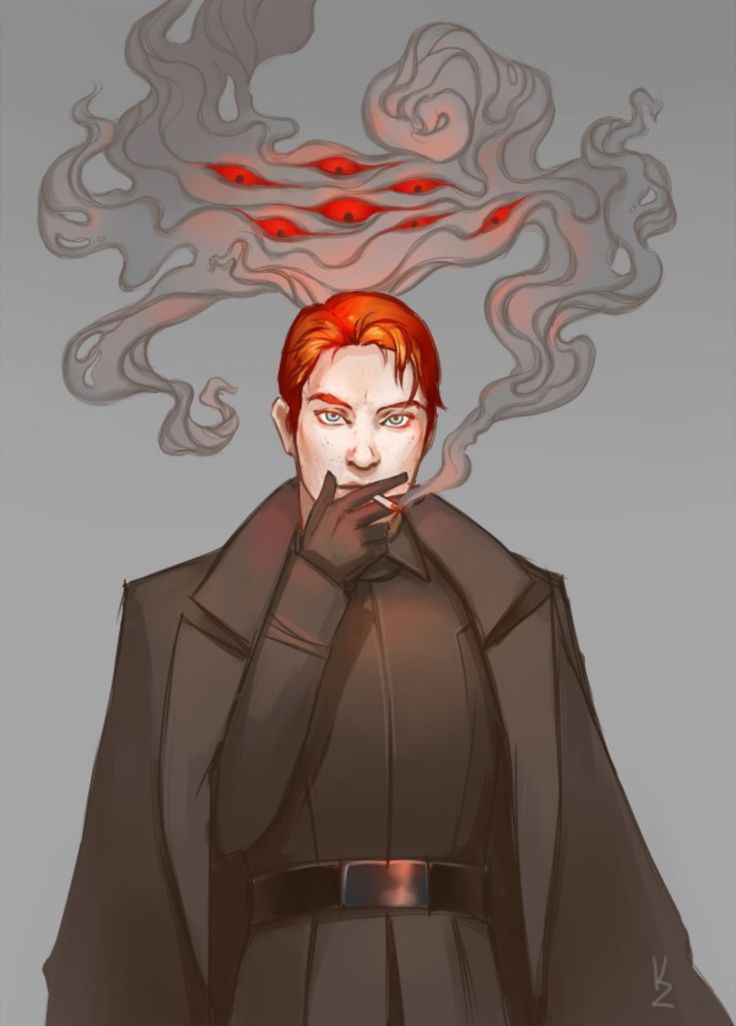 I feel like Hux is the last remaining person under 35 who could pull off smoking a pipe.