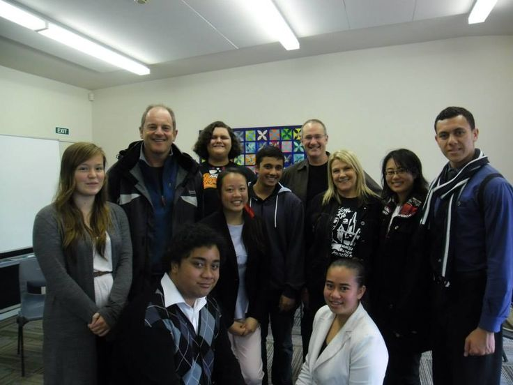 Labour Youth MPs with David Shearer