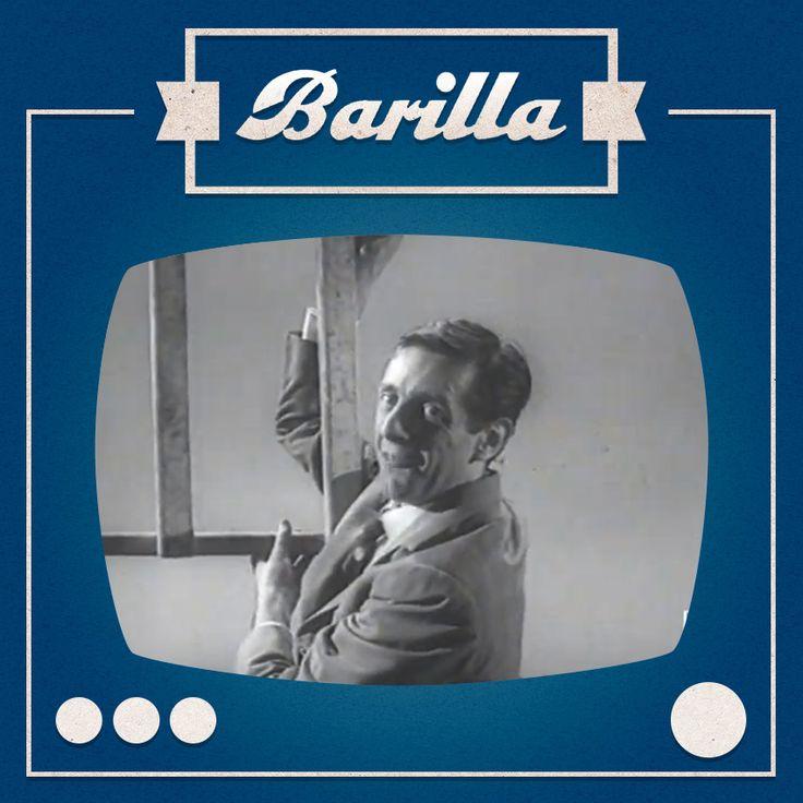 """Nel 1959 Dario Fo era un """"freddo della guida"""" per un giocoso Carosello di #Barilla."""