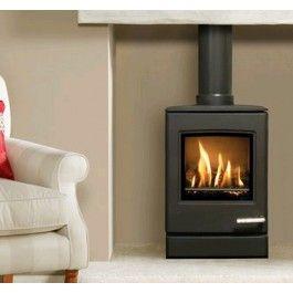 De #Gazco Yeoman CL3 Gas is een vrijstaande #gashaard die is afgeleid van de Yeoman CL3 #houtkachel. #Gaskachel #Kampen #Interieur #Fireplace #Fireplaces