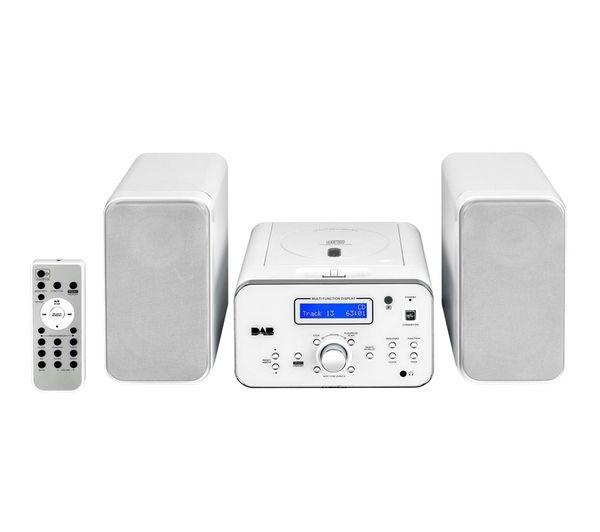 Buy IWANTIT IDABHF12 Micro Hi-Fi System - Silver | Free Delivery | Currys £79.99