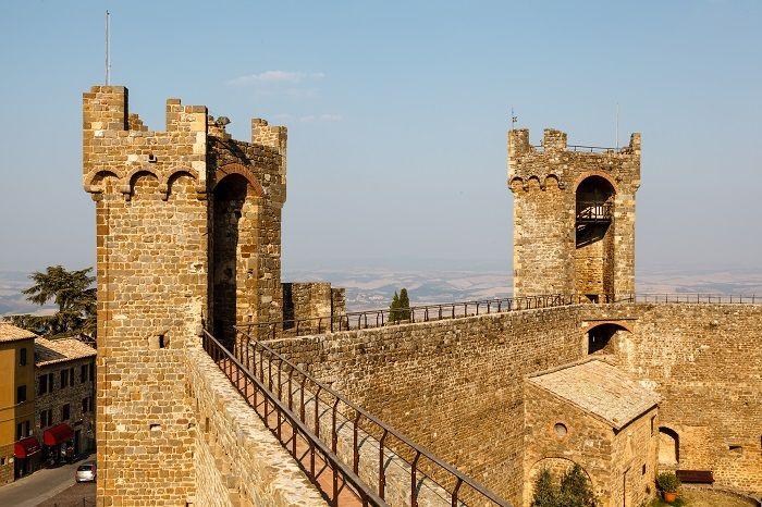 Montalcino castle  - Montalcino, Il borgo del Brunello, un gioiello d'arte e storia immerso nelle colline senesi