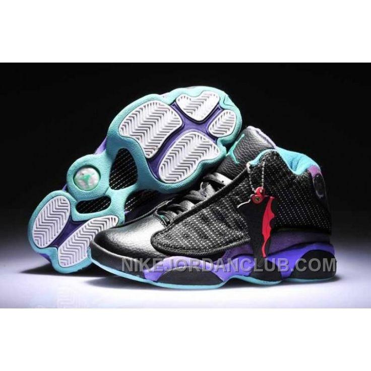 Nike Air Jordan 13 Womens Grape Purple Black Shoes MBmNJ, Price: $84.00 - Nike Shoes for Men, Women & Kids, Air Jordan Shoes | NikeJordanClub.com