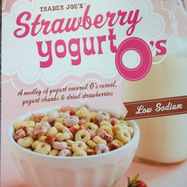 Trader Joe's Strawberry Yogurt O's Cereal