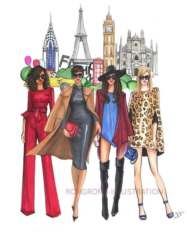 Pin By Jennifer Hagen On Fashion Illustrations Fashion