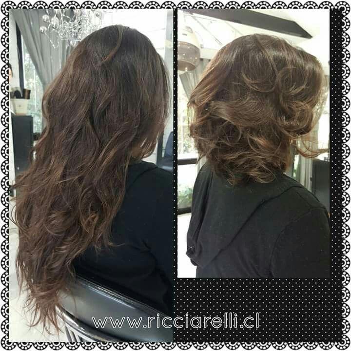 Cambio de Look ! #haircut #reparacióncapilar #cambiodelook #asesoriadeimagen #PeluqueriaRicciarelli #antesydespues