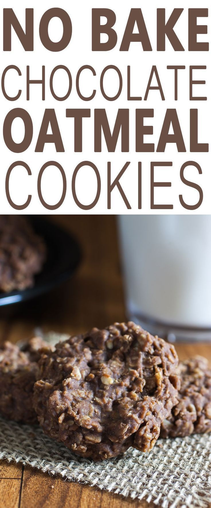 Cookies Peanut Butter Oatmeal Chocolate