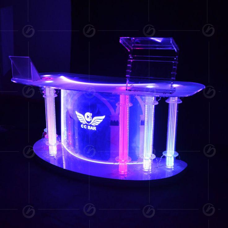 This Is A Acrylic Night Club Dj Facade Night Bar Booth