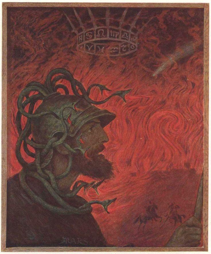"""Mars"" by Hans Thoma"