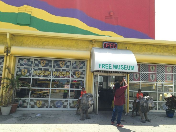 """Swap Shop - Fort Lauderdale, FL, United States. Apparently the """"museum museum"""" was an old car display with added dummies."""