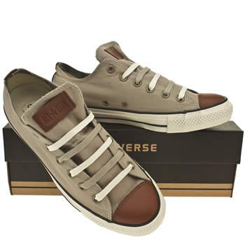 Grey Converse Cons Ctas Premium Ox at Schuh. Cute men's shoes