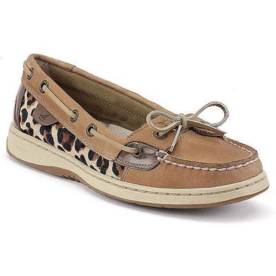 Love these Sperry Top-Sider Angelfish Slip-On Boat Shoes and Leopard print  stuff!