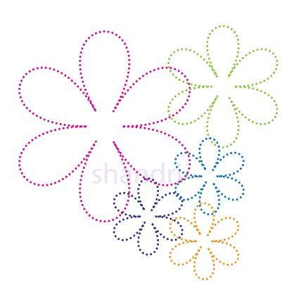 Bloemen | Bloemen en Planten | glittermotifs