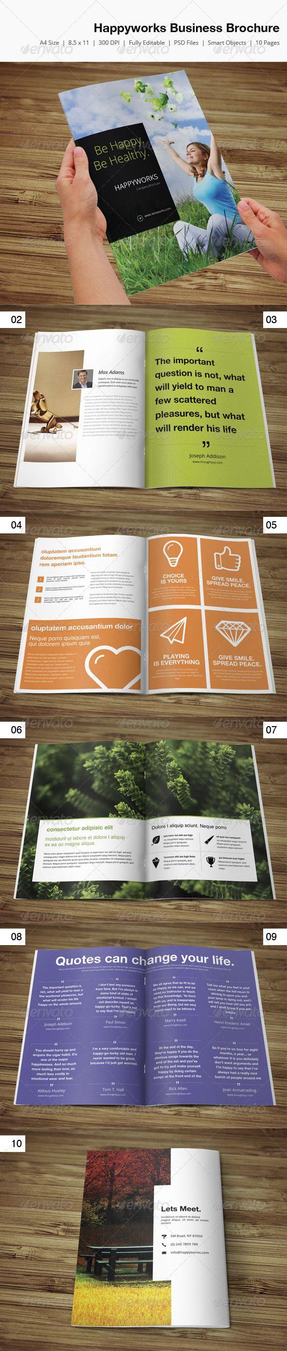 Happyworks Creative Brochure