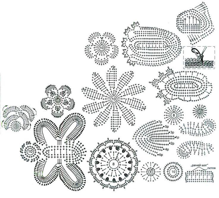 1000  images about crochet applique  on pinterest