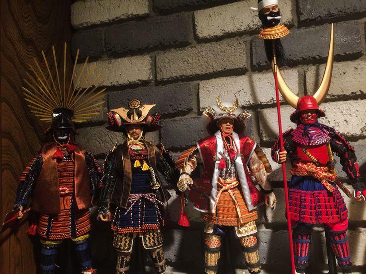 Did Samurai Daimyo From Left To Right Toyotomi Hideyoshi