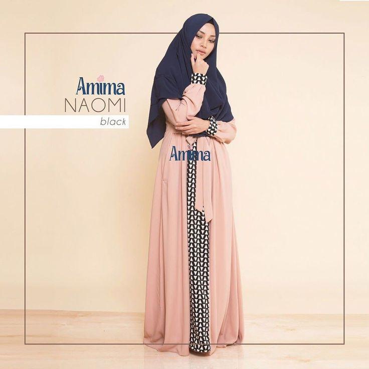 Gamis Amima Naomi Dress Black - baju muslim wanita baju muslimah Untukmu yg cantik syari dan trendy . . Size:  S ---> 94 | 137 M ---> 100 |140 L ---> 106 | 140 . . Material bahan : -CREPE POLOS  WOLVIS PATTERN nyaman digunakan seharian material ringan dan flowy cocok untuk travelling karena cuci-cepat kering dan ga perlu setrika -Model rok dengan aksen motif di bag tengah depan -Model kerah bulat dengan Bukaan zipper depan -Kantong pada kanan dan kiri untuk menyimpan dompet / HP -Tali…