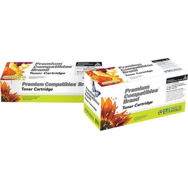 Premium Compatibles HP 35A HP CB435A Dual Pack Laser Toner Cartridges, #CB435D-RPC