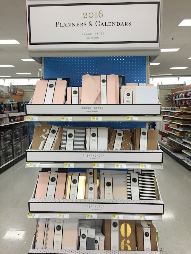 Target has teamed up with Sugar Paper Los Angeles, a high-end bespoke letterpress stationery brand, to create both a line of stylish 2016 planners as well as a holiday collection with everything fro...