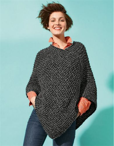 Bergere de France Short Poncho Pattern 336.231