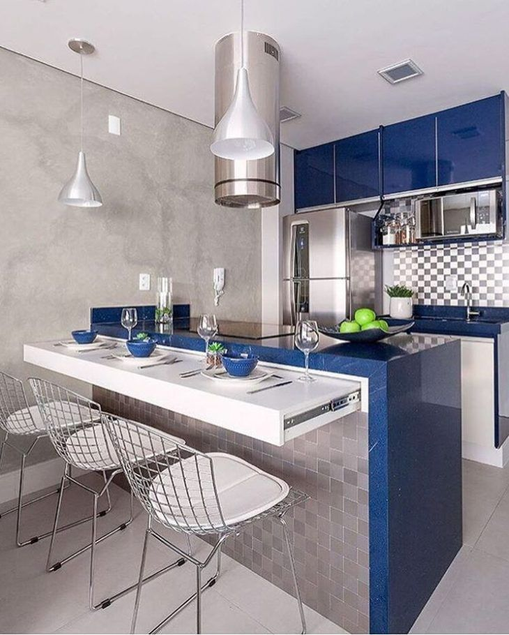 215 best Mini cocinas images on Pinterest | Small kitchens, Modern ...