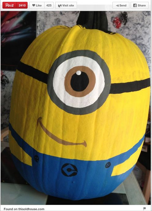 Minion Pumpkin Decoration - Tulsa Kids - Web 2015 - Tulsa, OK