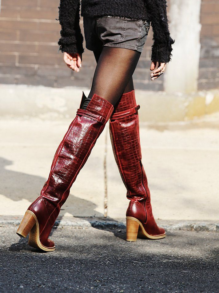 309e5a0e53e Free People Novak Over the Knee Boot at Free People Clothing Boutique