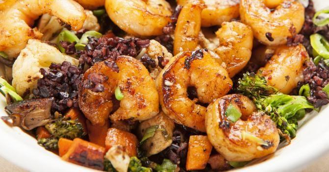Recette de Sauté Croq'Kilos de crevettes au citron, carottes et brocoli. Facile et rapide à réaliser, goûteuse et diététique.