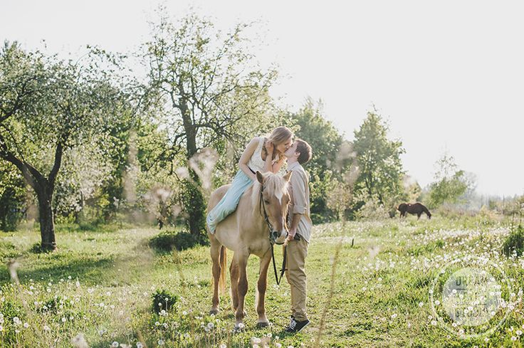 http://dreameyestudio.pl/ #lovecouple #sessionwithanimal #summer #weddingphotography #lovelycouple #engagementsession
