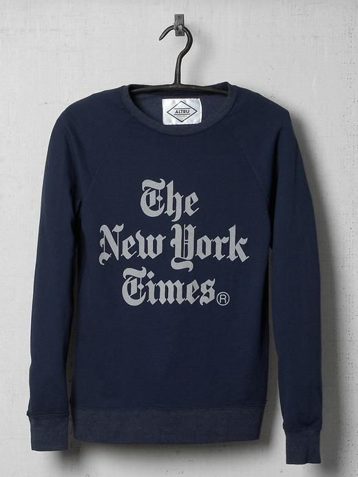 Piperlime | New York Times Stacked Sweatshirt