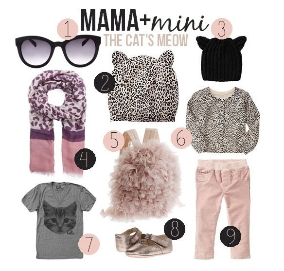 Mama + Mini Fall Leopard Inspired Style | Little Baby Garvin
