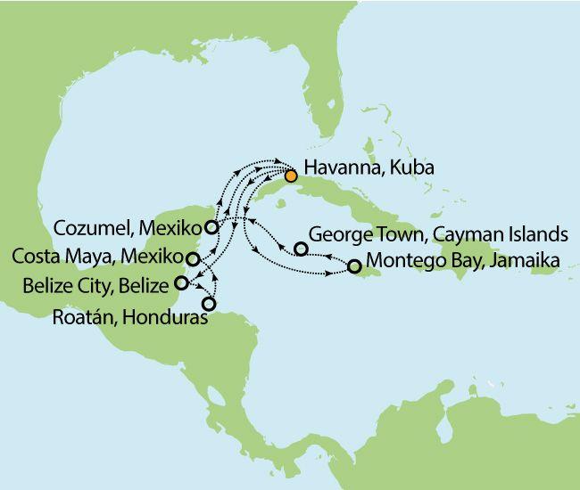 MSC Opera – Last Minute Kuba Kreuzfahrt - 16 Tage Voll-Pension nur 1.399,-€ inkl. Flug!
