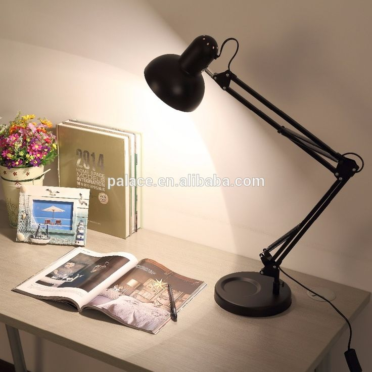 Top sale black ABS Iron cheap table lamp rgb dimmable led Table Lamps