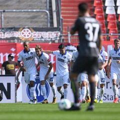 German league football: Karlsruher SC vs FC Rot-Weiss Erfurt