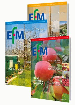 The EUROPEAN FRUITGROWERS MAGAZINE  • The international magazine on fruit growing     for the professional fruit grower.  •  Published monthly.  • Compiled by an international group of fruit     growing specialists.  • Basic edition for growers of apples, pears, plums,     damsons and cherries. http://www.fruitmagazine.eu/en/index.html