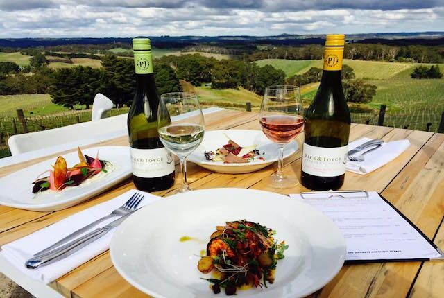 6 of South Australia's best winery lunch spots