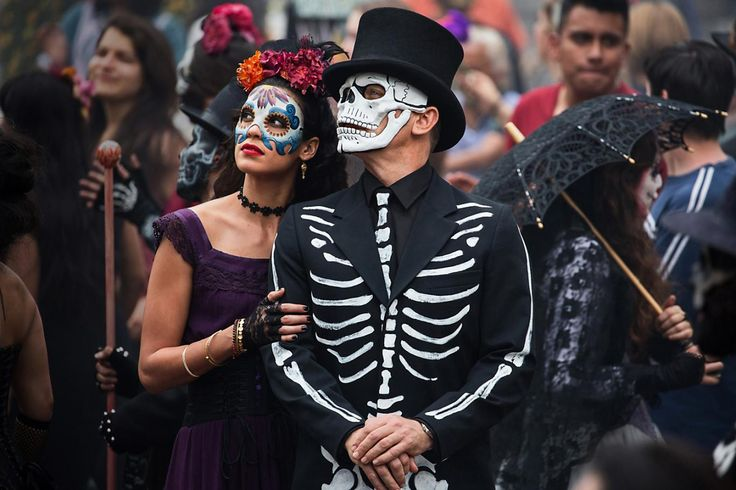 James Bond in Spectre (mexico) death - mooi skelet pak voor Halloween