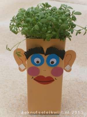 Leuk en makkelijk om zelf te zaaien en te zien groeien, tuinkers. Je ziet…