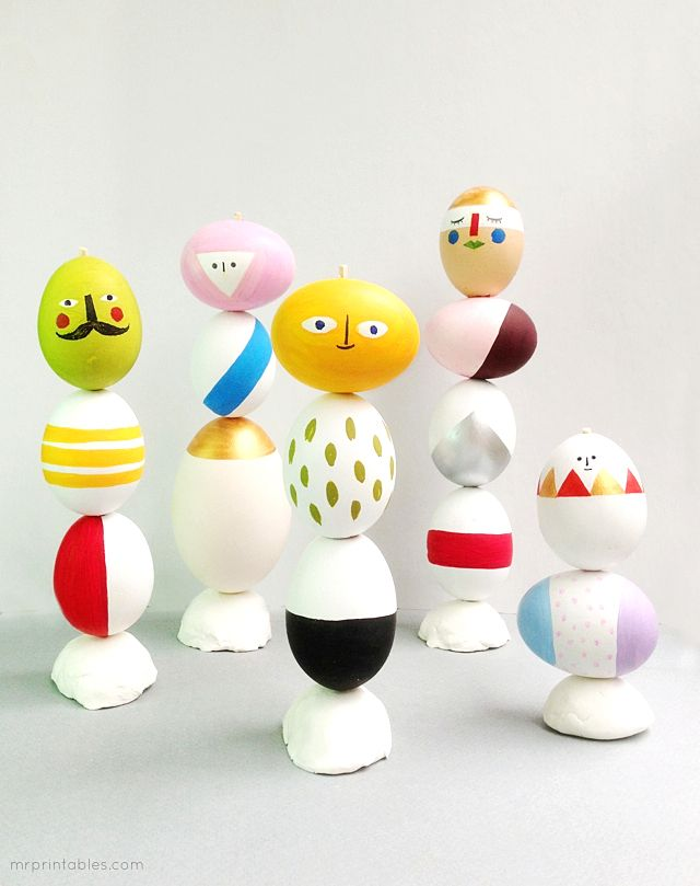 Uh-huh I'm sure I'm not going to do any of these but they sure are fooking cute. 15-easter-diy-crafts