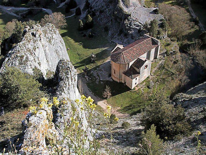 Parque Natural del Cañón del Rio Lobos, Soria - Ermita de San Bartolomé