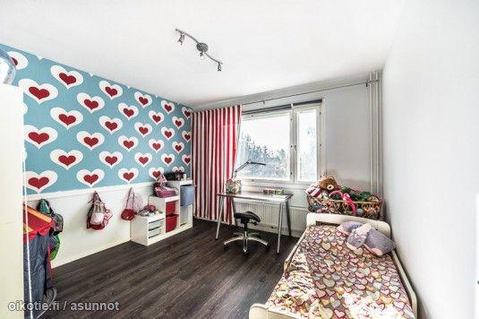 Myytävät asunnot, Lintukallionrinne 7 E Kivimäki Vantaa #lastenhuone #oikotieasunnot