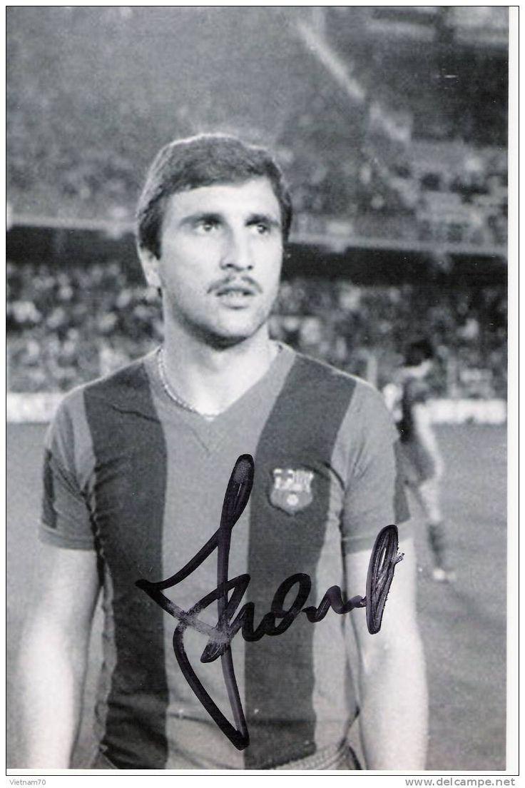 Austrian soccer player Hans Krankl, WM 1978 EX Barcelona