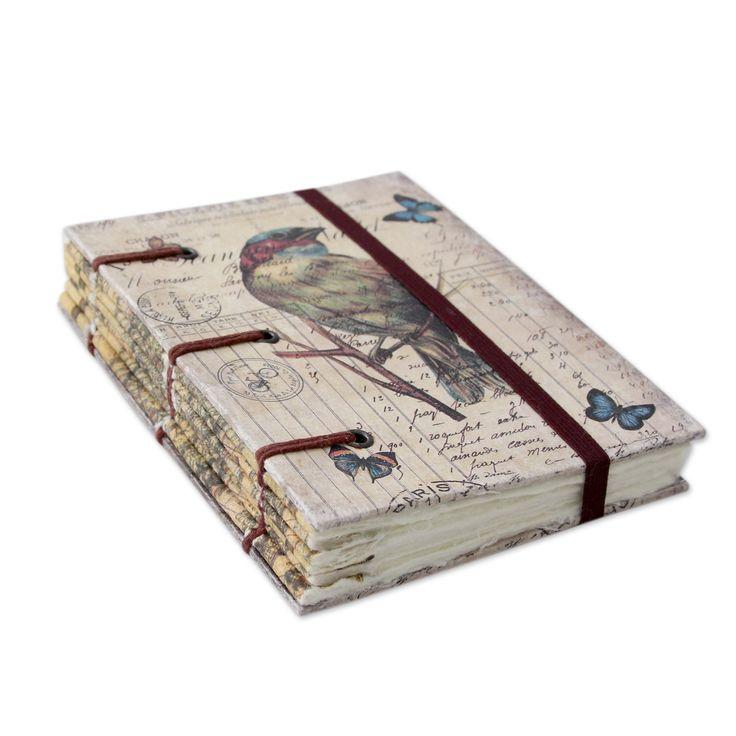 Novica Life's a Journey Handmade Journal