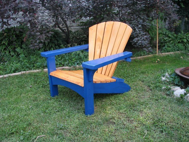 blue adirondack chair adirondack chairs i have made pinterest