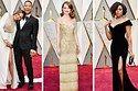 So sah's bei den Oscars 2017 auf dem roten Teppich aus