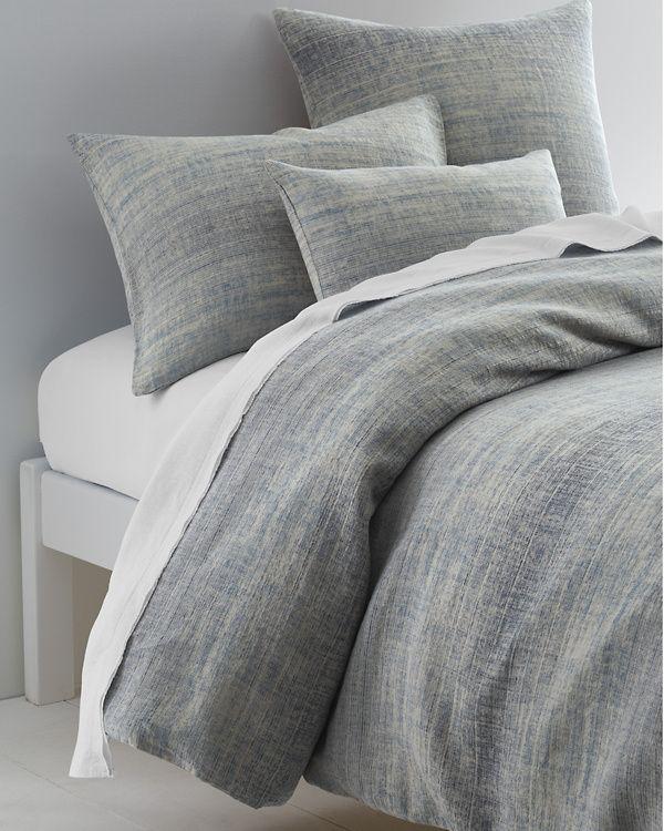 Eileen Fisher Ombre Cotton Linen Duvet Cover Linen Duvet Covers Bed Comforter Cover